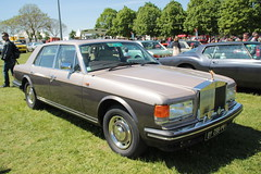 20140503 Magny-Cours Nivre - Classic Days - ROLLS-ROYCE  SILVER SPIRIT -(1981)- (anhndee) Tags: france classic frankreich days bourgogne classiccars magnycours voituresanciennes nivre classicdays