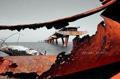 Mare (Rust (Ruggine) (Arcieri Saverio) Tags: nikon mare lamezia pontile terme d5100