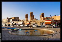 Yadz (Iran) Place centrale (L'Abominable Homme de Rires) Tags: iran yadz