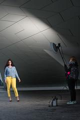 Model shoot BTS (martin wilmsen) Tags: girl fashion model nikon location setup strobe bts elinchrom modelshoot strobist nikkor70200 d800e