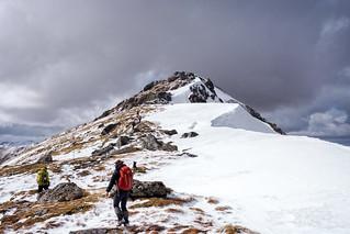 South Glen Shiel Ridge: Sgurr an Lochain Ascent