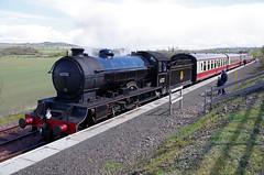 "D49 ""Morayshire"" at Manuel (Mike Futty) Tags: manuel morayshire d49 bonessandkinneilrailway 62712"