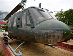 UH1B Helicopter (BushmanW12) Tags: usa war vietnam helicopter danang uh1b