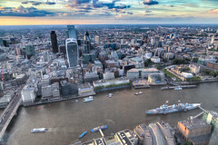 View of The City from the Shard