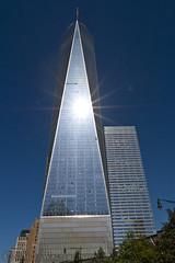 Sunburst (SamuelWalters74) Tags: newyorkcity newyork unitedstates manhattan worldtradecenter financialdistrict lowermanhattan nycskyline 7worldtradecenter freedomtower 1worldtradecenter 1wtc oneworldtradecenter