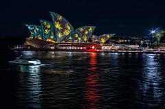 Vivid Sydney 2015 Opera House pt1 (elpolodiablo) Tags: light house colour opera pentax sydney vivid f2 35 fa k5 iis