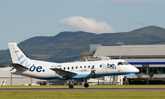 G-LGNF SAAB 340, Edinburgh (wwshack) Tags: scotland edinburgh edi saab340 loganair flybe turnhouse egph edinburghairport glgnf