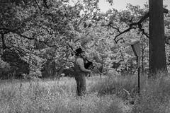 Pipes in the Prairie (mb.kinsman) Tags: green nature fuji prairie bagpipes acros xpro2