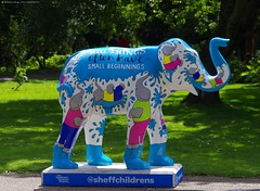 Herd of Sheffield elephant sculptures (10) (Simon Dell Photography) Tags: herdofsheffield herdof sheffield herd eliphants statues town city sculptures colorfull awsome 2016 trail see find them locations