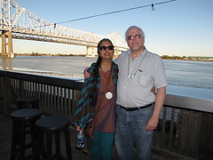 New Orleans-15.27 (davidmagier) Tags: portrait usa david sunglasses river louisiana neworleans bridges aruna