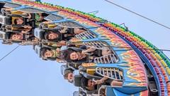 Enjoy The Ride (Wes Iversen) Tags: people fairs michigan carnivals carnivalrides davisburg oaklandcountyfair nikkor18300mm
