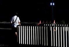 Continuit interrotta (crphoto Castlelli Romani) Tags: colore minimal righe stazione persone strada strade contrasto ombra luce
