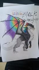 Rainbow Black Dragon (LeeWonHee) Tags: