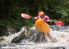 Concentration (Chris Willis 10) Tags: white water kayak raft rafting river bala wales sport action