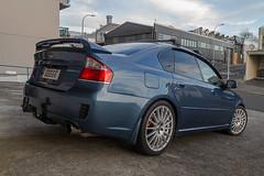 Subaru Legacy 3.0R JDM (soba_noodle) Tags: subaru legacy ble jdm 30r wangan oz ohlins brembo