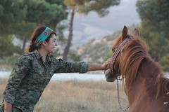 Kurdish YPG Fighter (Kurdishstruggle) Tags: ypg ypgypj ypj horse ypgkurdistan ypgrojava ypgforces ypgkmpfer ypgkobani ypgwomen ypgfighters yekineynparastinagel kurdischekmpfer war freekurdistan berxwedan warphotography warrior freedomfighters hero resistancefighters nature jinjiyanazadi jinenazad femalefighters feminism feminist womenfighters kurdishwomenfighters kurdishfemalefighters revolutionary revolution revolutionarywomen amazing freiheitskmpfer struggle liberty beautifulwoman kobane kobani efrin rojava rojavayekurdistan westernkurdistan pyd syriakurds syrianwar kurdssyria krtsuriye kurd kurdish kurden kurdistan krt kurds kurdishforces syria kurdishregion syrien kurdishmilitary military militarywomen kmpfer kurdishfighters fighter kurdishfreedomfighters
