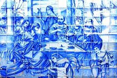 Painel de azulejos na Igreja de Nosso Senhor do Bonfim (marcusviniciusdelimaoliveira) Tags: portugal arte igreja bahia salvador pintura azulejos baslica senhordobonfim azulejaria