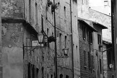 Old City (Ligeia79) Tags: pienza italy vicolo lampione lamp