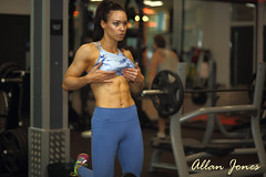 Female Abs (Allan Jones Photographer) Tags: abs femaleabs fitnessmodel gym workout weights fit fitness hotbody model beauty gorgeous hot strongwoman femalemuscle toned tanned woman allanjonesphotographer canon5d3 canonef85mmf18usm sophieleighlees