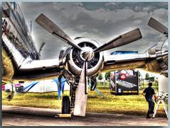 OE-LDM - Douglas DC-6B - The Flying Bulls (Peterspixel from Peter Althoff) Tags: douglasdc6b douglas dc6 theflyingbulls oeldm ila ilaberlinairshow2016 ila2016 airplane air airport airlines flugzeug flughafen berlin ber germany hdr