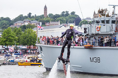 Flyboard (gothick_matt) Tags: uk bristol display unitedkingdom harbour places harbourside floatingharbour cabottower 2016 harbourfestival bristolharbourfestival flyboarding bigcrazyflyboarding
