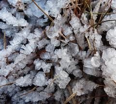Ice crystals - Cristalli di ghiaccio (Silvana *_*) Tags: winter ice water crystals acqua inverno ghiaccio geometria valledaosta cogne cristalli