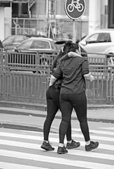 Support (Dutch_Chewbacca) Tags: life street city girls friends summer people urban blackandwhite bw woman hot netherlands girl monochrome canon support women europa europe pretty day outdoor candid centre sunday den nederland citylife streetphotography july streetlife human together streetphoto brunette denbosch brabant bosch 17th shertogenbosch noordbrabant urbanlife 2016 duketown straatfotografie