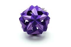 Vidrio (Akizhi) Tags: art paper origami craft modular kusudama