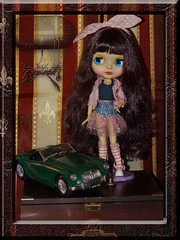 Welcome at home Priana (dean.dromos) Tags: cute doll little sweet littlegirl blythe lovely blythedoll prettylittlething dollphoto dollphotograph