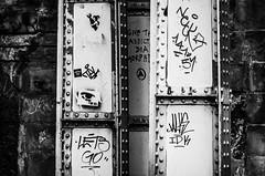 Yes (Light Manoeuvre) Tags: city blackandwhite monochrome graffiti scotland blackwhite nikon edinburgh outdoor 5100