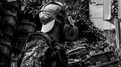 _DSC6286 (CraigSeers) Tags: airsoft roleplay rp weapon apocalypse abandoned urbex survivor army millitary wasteland old