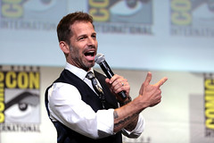 Zack Snyder (Gage Skidmore) Tags: zack snyder ben affleck henry cavill gal gadot ray fisher ezra miller jason momoa justice league film san diego comic con international california convention center