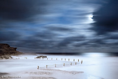 Moon Light (renatonovi1) Tags: moon light moonlight fullmoon luna night cluds sea ocean maroubra sydney australia nsw seascape landscape wave