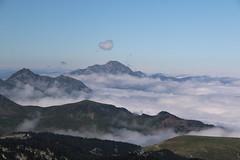 Les Pyrnes dans une mer de nuages (escaledith) Tags: lapierresaintmartin pyrnes nuages montagne estives clouds landscarpe randonne france 64 prairie