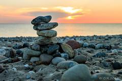 Fehmarn (Re Ca) Tags: sonnenuntergang bojendorf fehmarn strand steine
