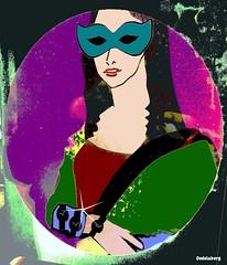 Mona (Kay Harpa) Tags: illustrations mona artkay pubtransformées lajoconde juillet16 paris france thebiggestgroup monalisa