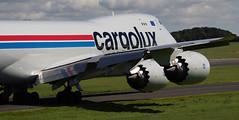 Cargolux Boeing 747-8R7F 7 (Ronnie Macdonald) Tags: ronmacphotos prestwick aircraft boeing747 jumbojet lxvck cargolux