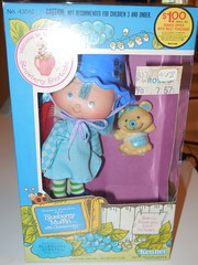 Blueberry boxed (Veni Vidi Dolli) Tags: strawberryshortcake kenner dolls blueberrymuffin