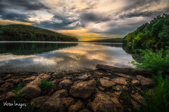 _DSC1291-Edit (wotenimages) Tags: landscape lake sunset moraine arthur