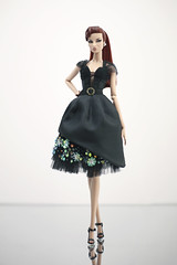 Dress order - by Rimdoll (Rimdoll) Tags: fashionroyalty eugenia blackdress order silkstone rimdoll
