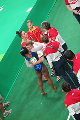 IMG_3969 (Mud Boy) Tags: teamusa brazil braziltrip brazilvacationwithjoyce riodejaneiro rio rioolympicarena rioolympicarenagymnastics rio2016 2016summerolympics summerolympics rioolympics2016 olympics gamesofthexxxiolympiad jogosolímpicosdeverãode2016 gymnasticsartisticwomensindividualallaroundfinalga011 gymnasticsartisticwomensindividualallaroundfinal ga011 barraolympicpark thebarraolympicparkbrazilianportugueseparqueolímpicodabarraisaclusterofninesportingvenuesinbarradatijucainthewestzoneofriodejaneirobrazilthatwillbeusedforthe2016summerolympics parqueolímpicodabarra barradatijuca alyraisman simoneariannebilesisanamericanartisticgymnastbilesisthe2016olympicindividualallaroundandvaultchampion simonebiles favorite rio2016favorite riofacebookalbum riofavorite