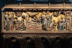 The Birth of Jesus, Notre-Dame, Paris (Earthman.) Tags: notredame notredamedeparis paris jesus jesusbirth thebirthofjesus france earthman cathedral fuji x100t birthofjesus architecturaldetail