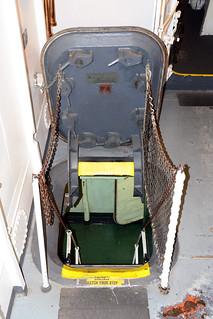 Main Deck Hatch, USS Hornet