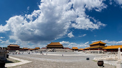 Forbidden City, Beijing, China (goneforawander) Tags: asia backpacking beijing china composite d7100 enzedonline forbiddencity goneforawander nikon panorama photomerge travel