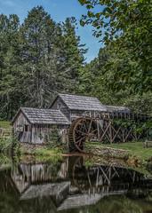 Mabry Mill Portrait (raddad! aka Randy Knauf) Tags: raddad6735212 raddad randyknauf raddad4114 randy knauf blueridgemountains blueridgeparkway marbymill grainmill mill gristmill mabrymill