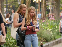 Jeans girl (Zangeressenlive) Tags: candid cute denim sexy jeans girls hot tight street