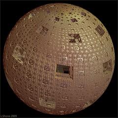 The Borg Mothership (larry_shone) Tags: borg sphere fractal incendia