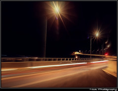 Warp speed...engaged !!! (Nick Papakonstantinou) Tags: road nightphotography red white trafficlights car night traffic sony tunnel headlights greece lighttrails f828 hdr sonydscf828 backlights roadlights volos sonyf828 thessaly hdrphotography longexposurephotography magnesia goritsahill