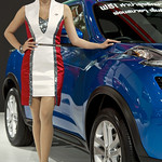 Sexy presenter for Nissan at the 36th Bangkok International Motor Show thumbnail