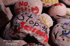 Hopes and dreams - pebbles (traceymepham) Tags: church easter children photography worship child cross god stones jesus pebbles hampshire andover want dreams hopes wishes wants activity tracey mepham